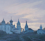 Krylov Vladimir - 'Old Church'