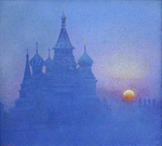 Krylov Vladimir - 'Temple of the Basil the Blessed'