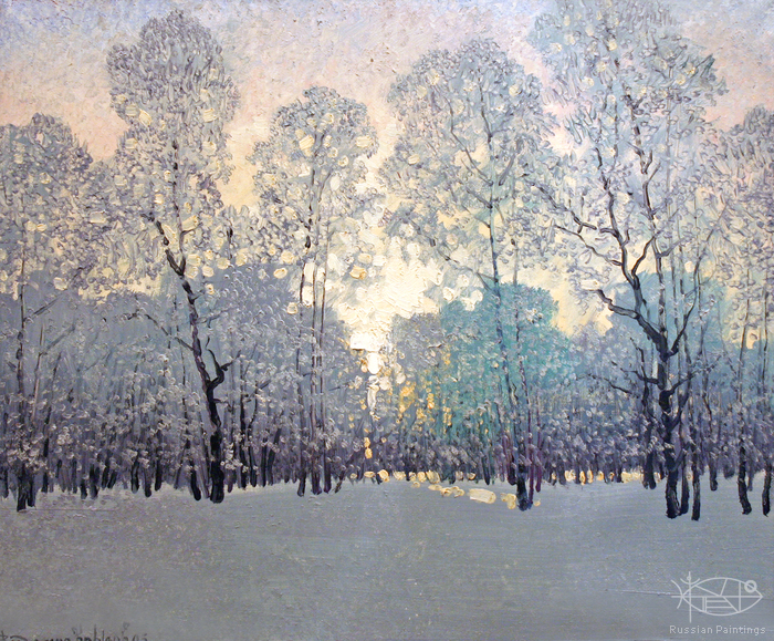 Krylov Vladimir - 'Winter'