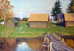 Lavrinenko Ruslan - 'Bathhouse on the Bank'