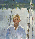 Lee Moesey - 'Boy on the Lake'