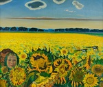 Lee Moesey  - 'Field of Sunflowers'