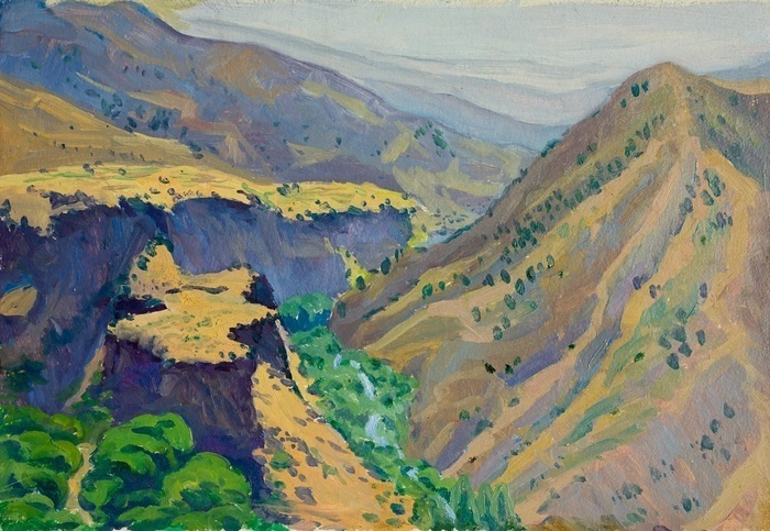 Lee Moesey - 'Gorge. Garni, Armenia'