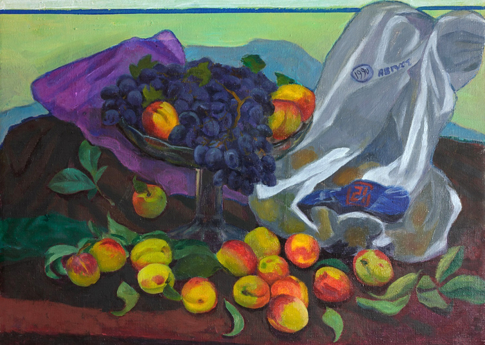 Lee Moesey - 'Grapes and Peaches'