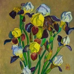 Lee Moesey - 'Irises'