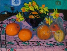 Lee Moesey - 'Oranges and Daffodils'
