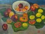 Lee Moesey - 'Peaches in a White Plate'