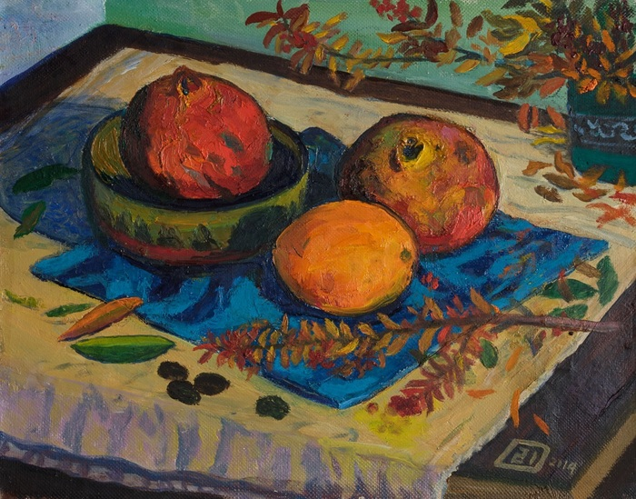 Lee Moesey - 'Pomegranates and Orange'