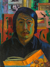 Lee Moesey - 'Self-portrait with the Book'