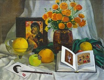 Lee Moesey - 'Still Life with Book'
