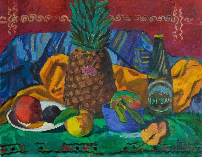 Lee Moesey - 'Still Life with Pineapple'