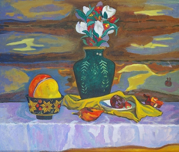 Lee Moesey - 'Still Life with Pumpkin'