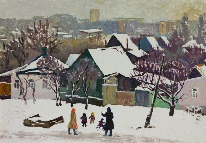 Lee Moesey - 'Winter Day'