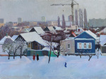 Lee Moesey - 'Winter outside the Window'
