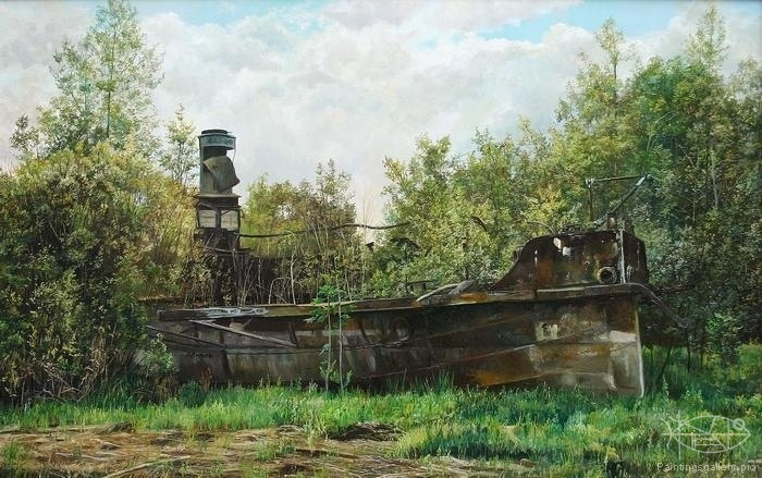 Lipko Andrey - 'Autumn of Ship'