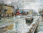 Lipko Andrey - 'Samara City after Rain'