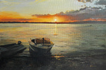 Lipko Andrey  - 'Sunset on the Vasilyevskie Islands'