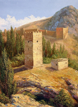 Lysak Gennadiy - 'View on Fortress'
