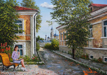 Lysov Yuriy - 'Carefree Warm Summer Day'