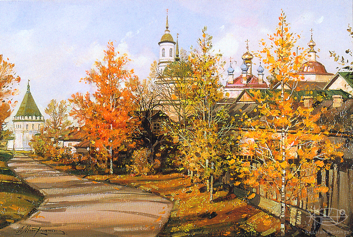Matreshin Alexander - 'Autumn in Optino'