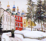 Matreshin Alexander  - 'In Pechory. Snow Removal'
