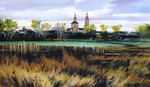 Matreshin Alexander - 'Outskirts of Suzdal'
