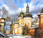 Matreshin Alexander - 'Rostov the Great. Western Facade of the Kremlin'