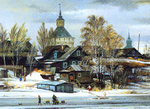 Matreshin Alexander - 'Saturday in Kirillov City'