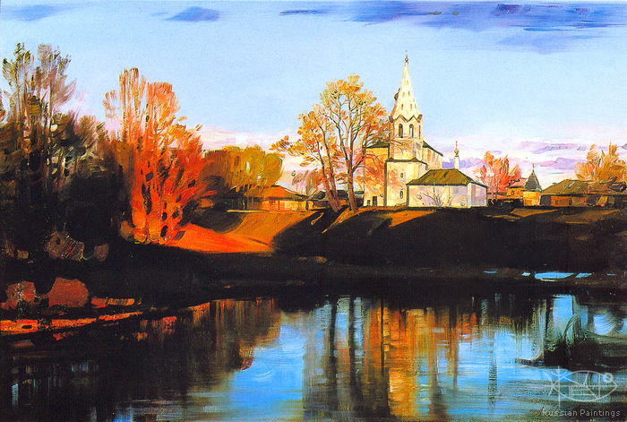 Matreshin Alexander - 'Suzdal. The Kosmodamianskaya Church'