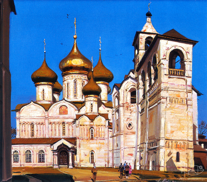 Matreshin Alexander - 'The Cathedral and the Bell Tower of the Spaso-Efimiev Monastery'