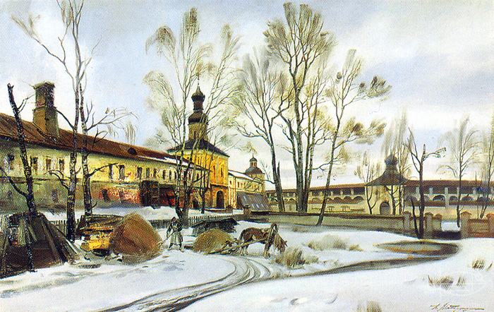Matreshin Alexander - 'The Kirillo-Belozerskiy Monastery'