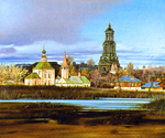 Matreshin Alexander - 'The Panorama of Suzdal with the Rizpolozhenskiy ...'