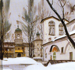 Matreshin Alexander - 'The Transfiguration Cathedral of the Spaso-Miroz...'