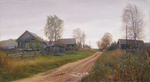 Matveev Mikhail - 'The Borisovka Village. October'