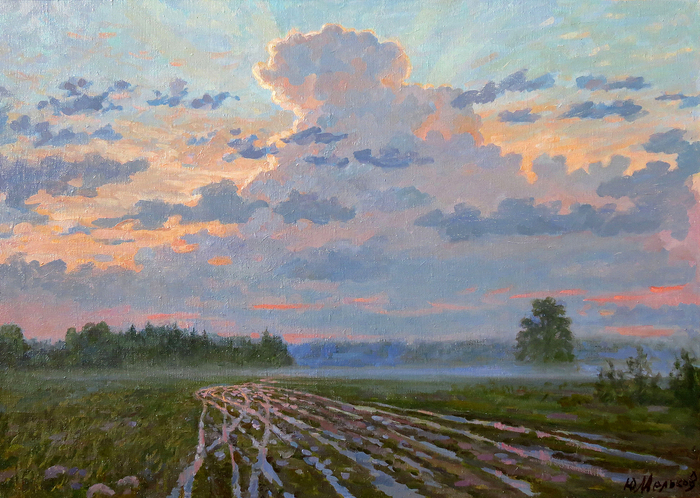 Melkov Yuriy - 'Evening after Rain'