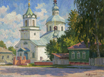 Melkov Yuriy - 'The Starodub Town. The Holy Church of the Epiphany'