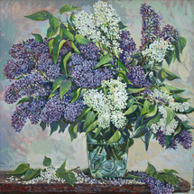 Mokrushin Valeriy - 'Bunch of Lilac'