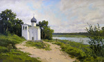 Osinin Pavel - 'Church in Village'