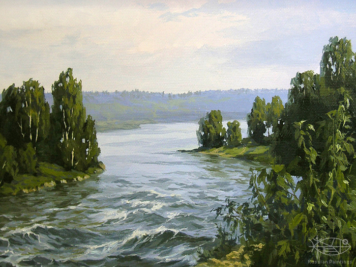 Osinin Pavel - 'On the Voksa River'