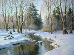 Osinin Pavel  - 'River in Winter Forest'