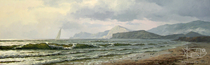Osinin Pavel - 'Sea in Crimea'