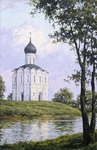 Osinin Pavel - 'The Pokrov Church on the Nerl River'