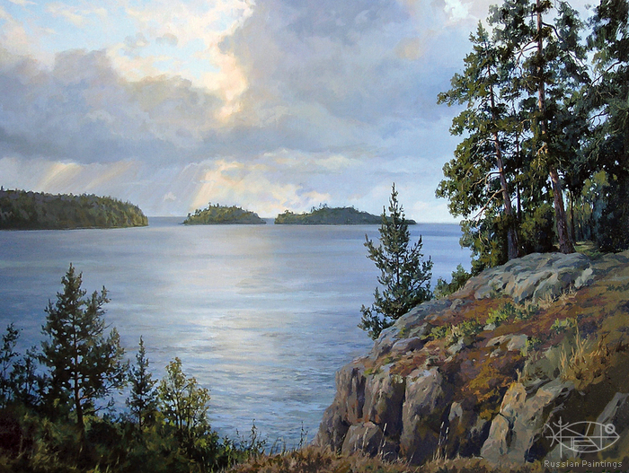 Osinin Pavel - 'View from the Valaam'