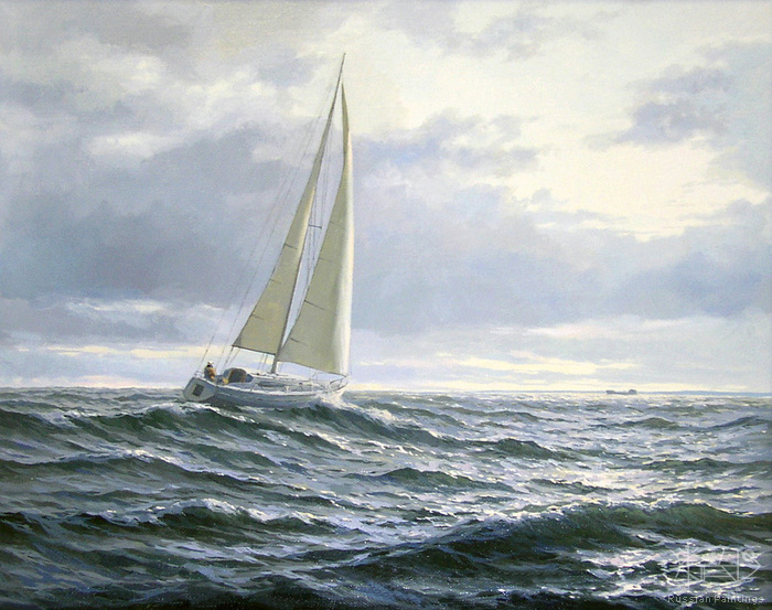 Osinin Pavel - 'Wind on the Rybinsk Sea'
