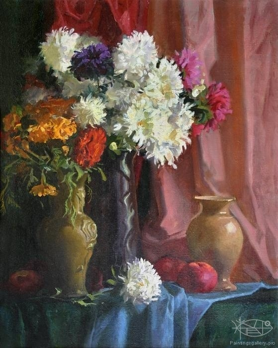 Panfilcev Nikolay - 'Chrysanthemums'