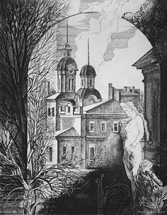 Panfilcev Nikolay - 'Corners of Old Samara. The Leo Tolstoy Street'