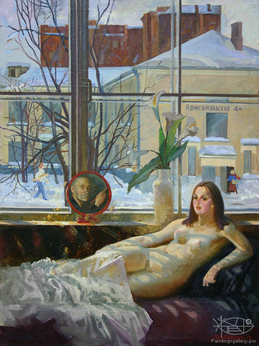 Panfilcev Nikolay - 'March Morning'