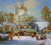 Panfilcev Nikolay - 'Pancake Week in Samara City'