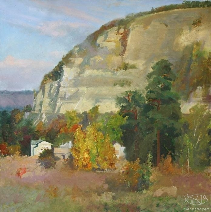 Panfilcev Nikolay - 'The Bahilova Glade. Golden Autumn'