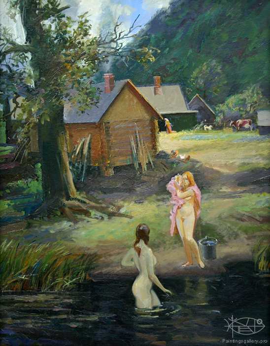 Panfilcev Nikolay - 'The Bath Day Friday'